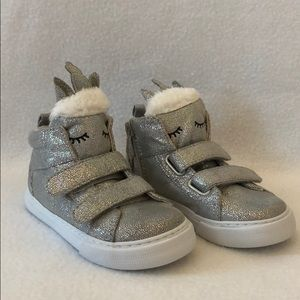 Baby Gap High Top Unicorn Sneakers
